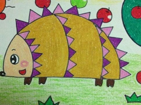 4岁儿童画画大全简单漂亮_4岁儿童简单漂亮的画画图片